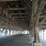 Halle de Questembert construite en 1552 et restaurée en 1675